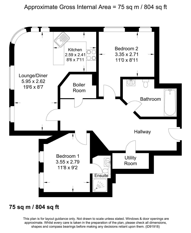 2 Bedroom Flat For Sale In I-Land, 41 Essex Street