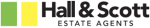 Hall &amp; Scott Estate Agents logo