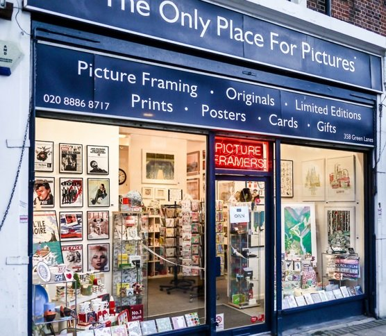 The only place for pictures, palmers green