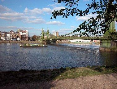 Hammersmith Bridge - microsite