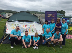Rawtenstall 'Relay for Life' Team