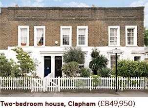 Two bedroom house Clapham 849950