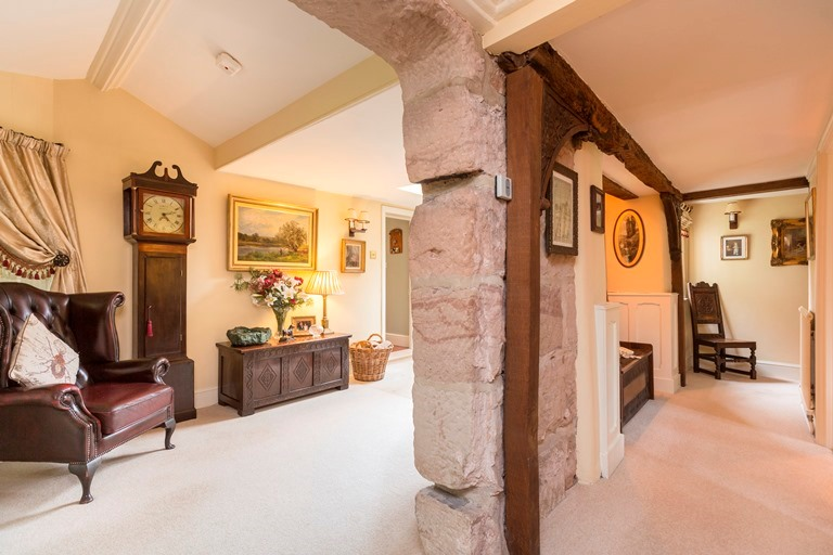 Adam bede house Ellastone hallway