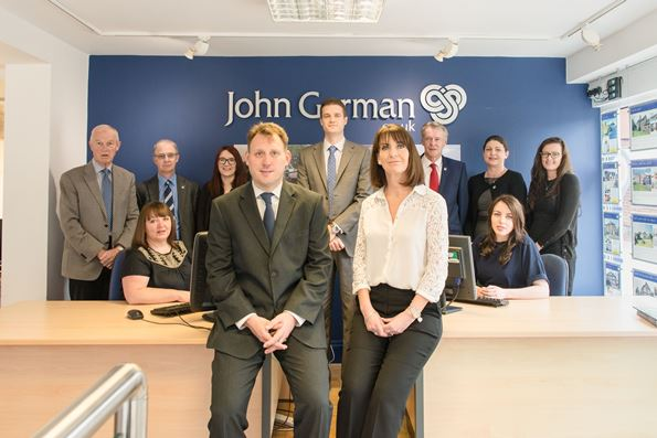 John German Burton Sales Team