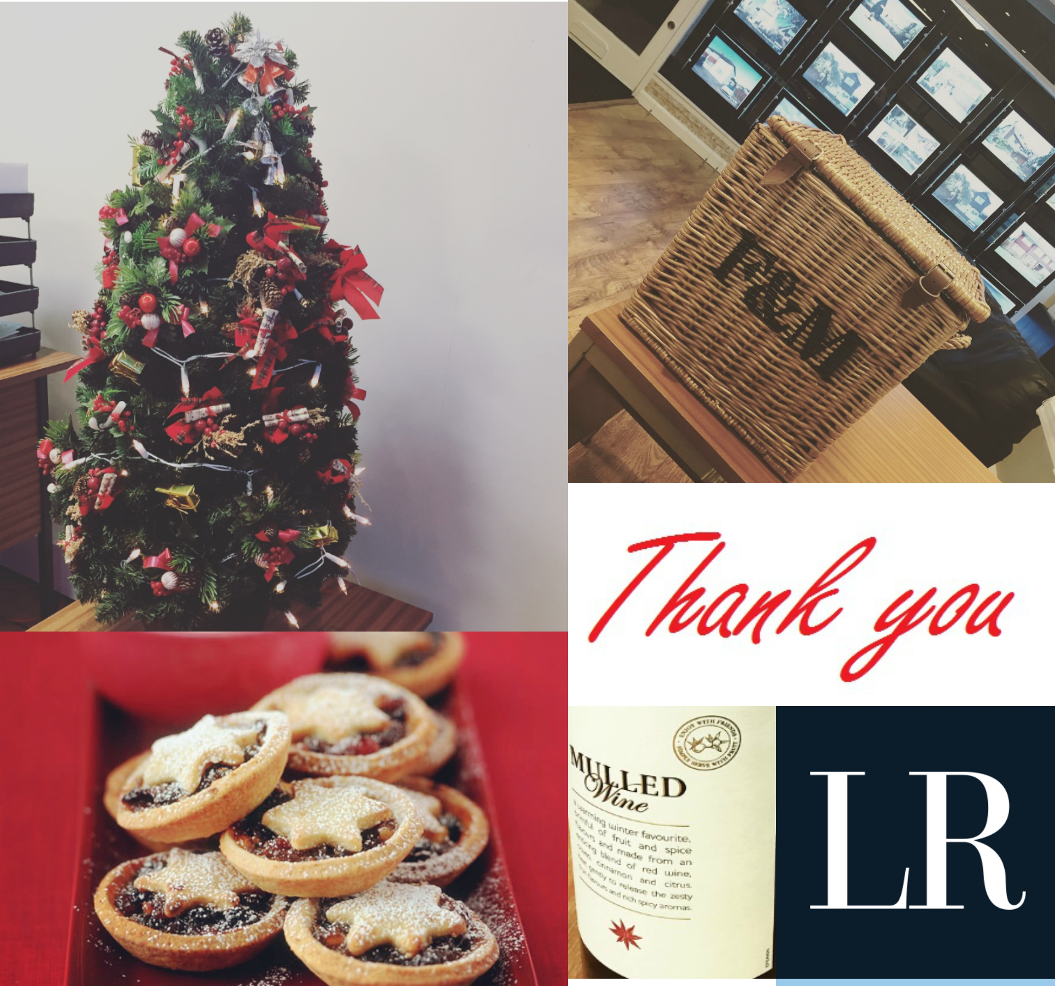Thank you to everyone who came to our mince pie and mulled wine evening