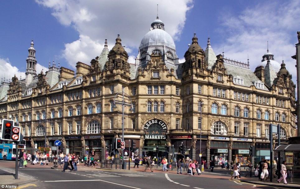 Kirkgate Market in Leeds