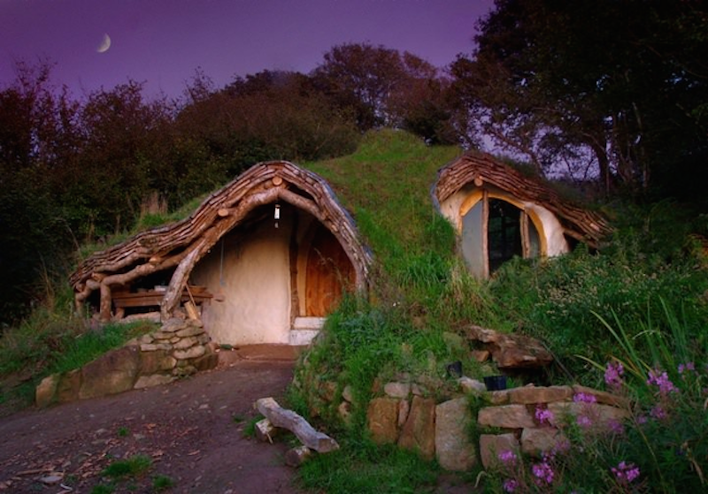 this hobbit house is an usual home