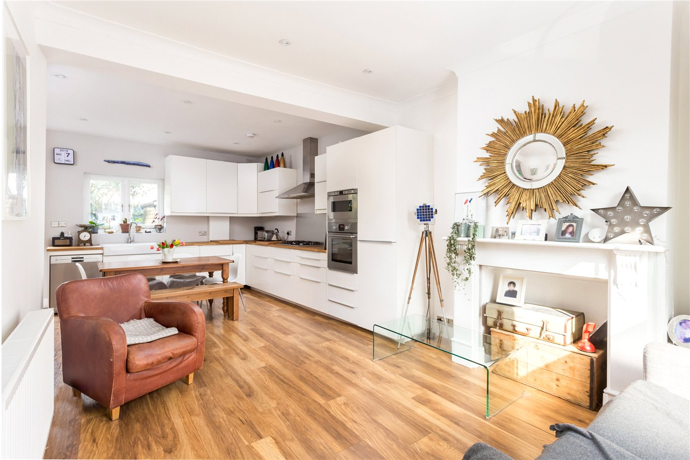 Double fronted family home in Crouch End