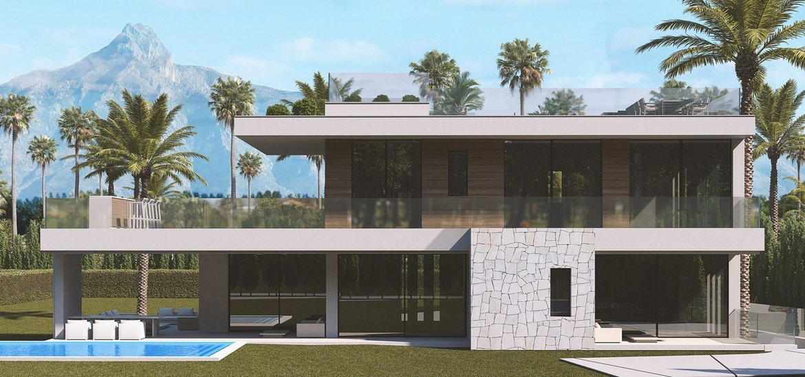 Contemporary off plan villa, Marbella Golden Mile