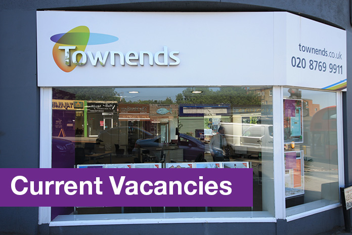 Find a job with Townends Estate Agents