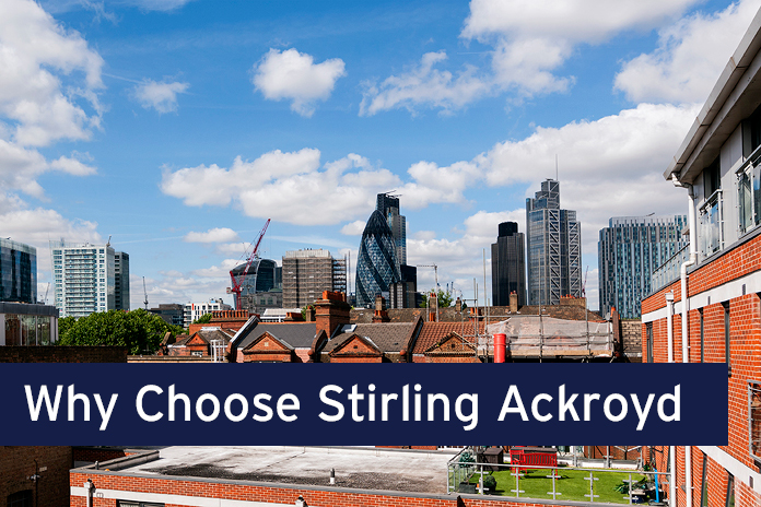 Why Choose Stirling Ackroyd