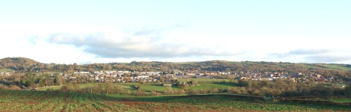 A beautiful view of Llandrindod Wells
