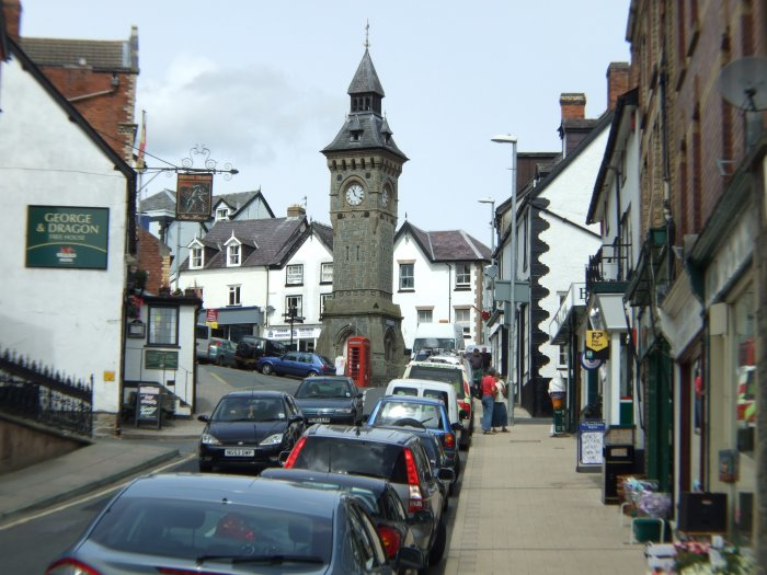 Knighton clock tower