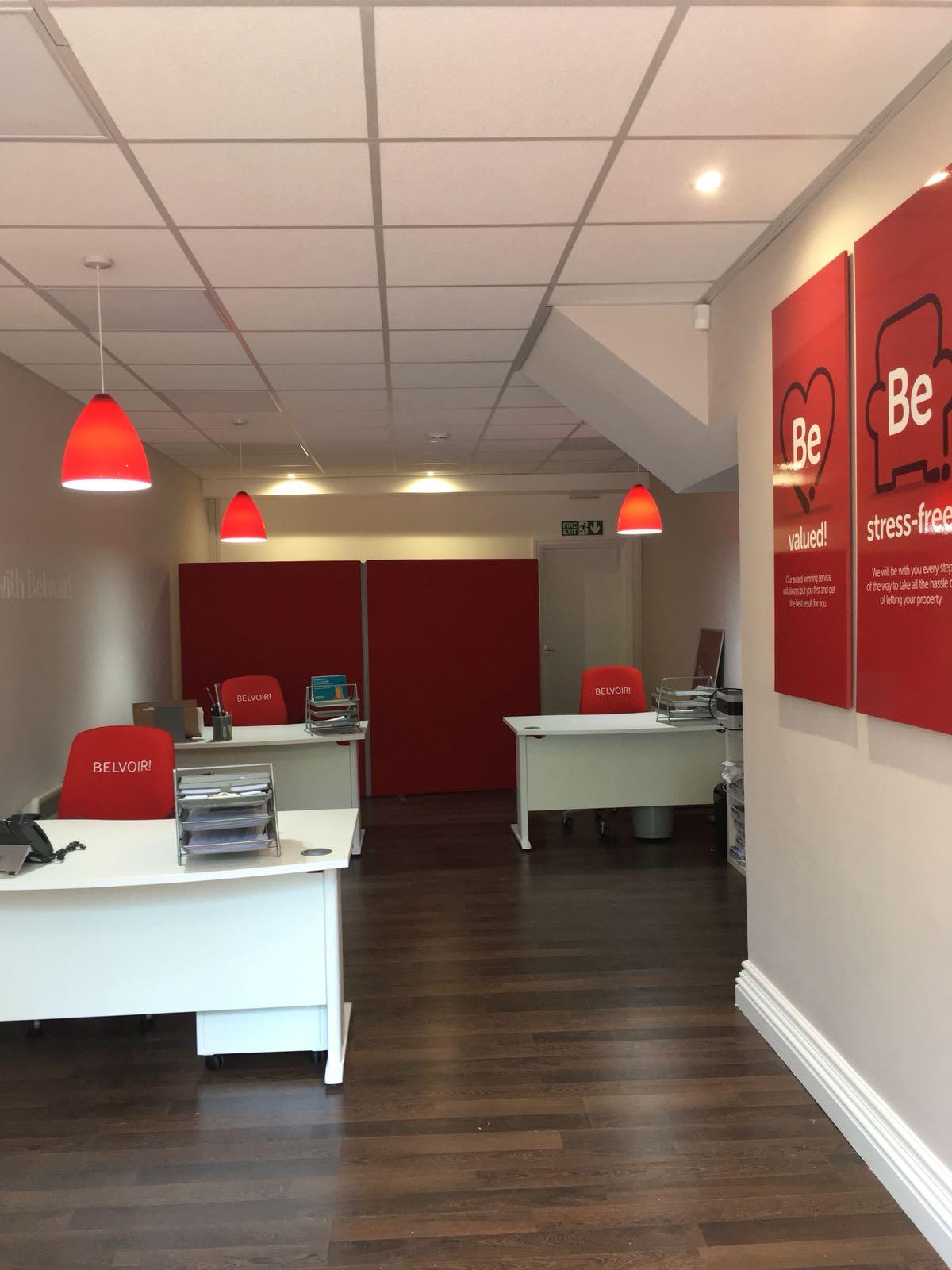 Belvoir Camberley New Office