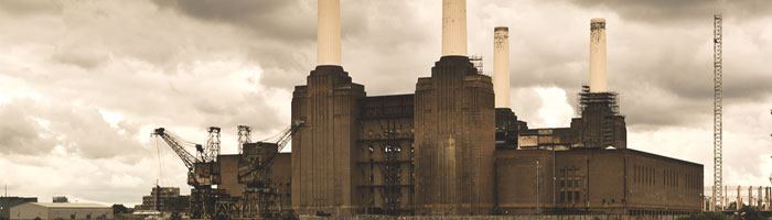 battersea power station banner