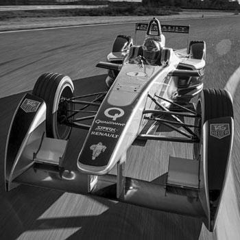 formula e race car battersea