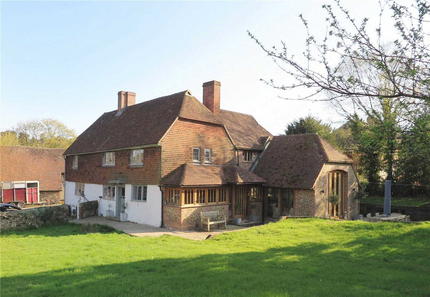 four-bedroom house in Tilford near Farnham