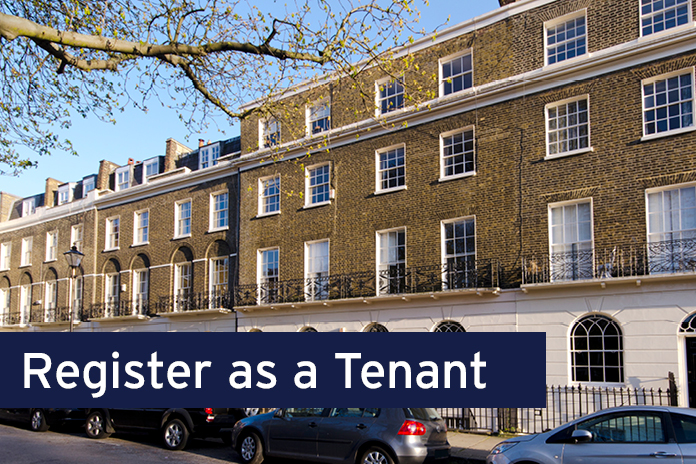 Register as a tenant with Stirling Ackroyd