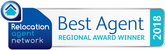 Relocation Agent Network Best Agent Regional Award Winner 2018