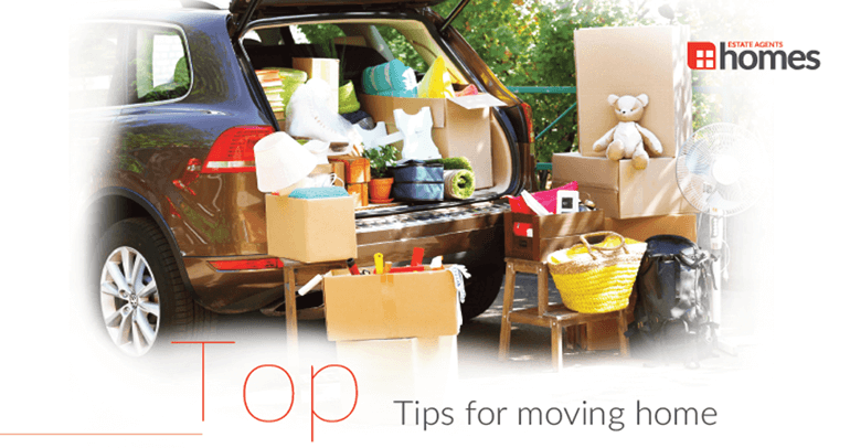 Top Tips for Moving Home from the team at Homes the Estate Agents