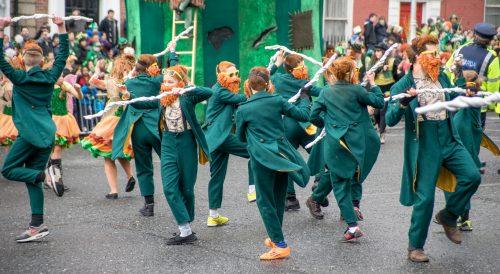 Saint Patrick's Day 2015, Dublin, Ireland