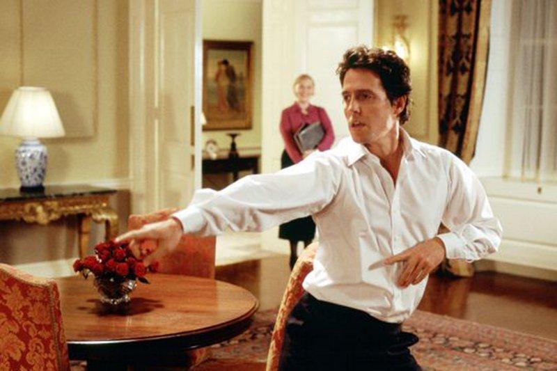 Hugh Grant Dancing Love Actually