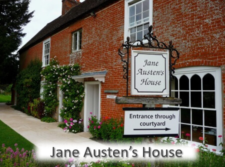 12 Great Local Places - Jane Austen's House