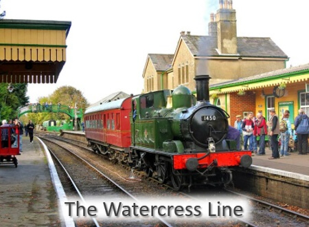 12 Great Local Places - The Watercress Line