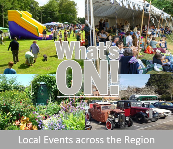 Click for Local Events Across the Region