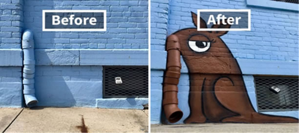 Anteater Before and After