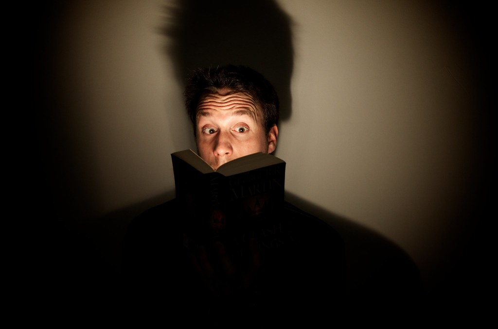 Scary storytelling by torchlight