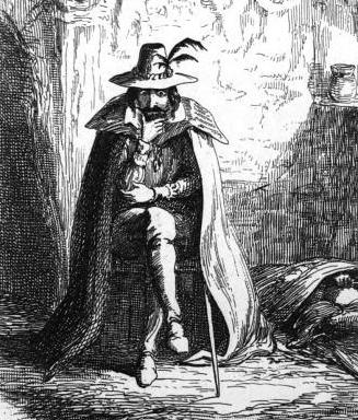 Guy Fawkes drawing by George Cruickshank