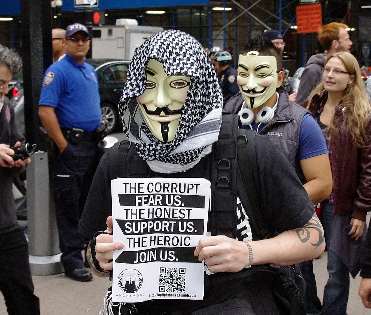Guy Fawkes Mask, Anonymous, Anon