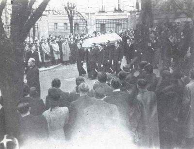Jan Opletal Funeral