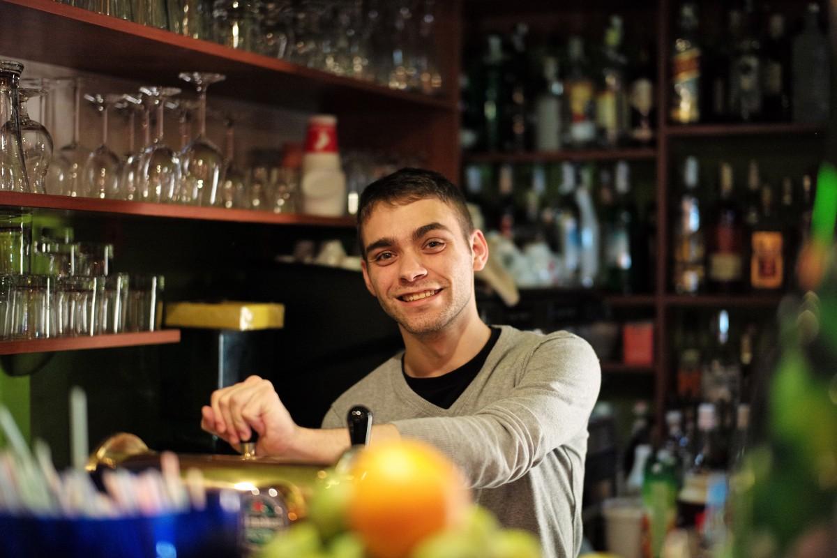 Student bartender
