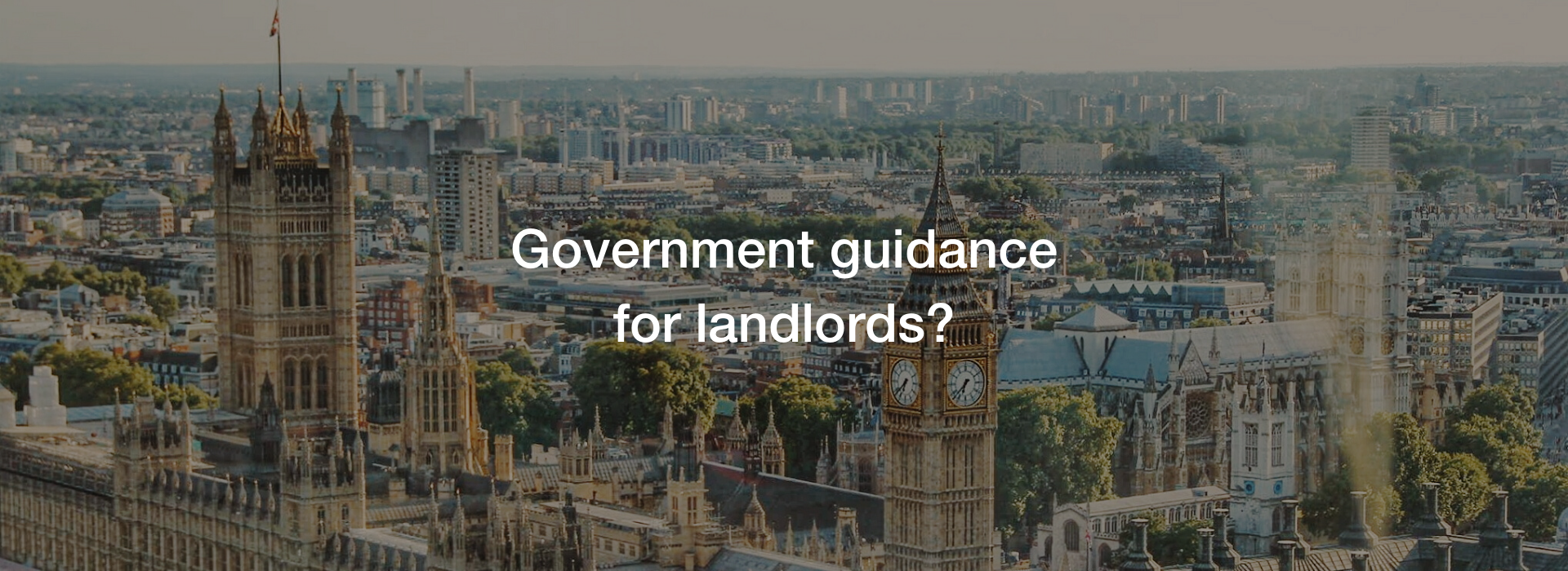 Government Guidance for Renters by Wills & Smerdon