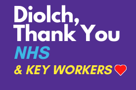 Diolch thank you nhs key workers covid-19